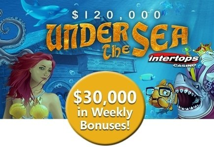 Intertops Casino's $120,000 Under the Sea Casino Bonus Event