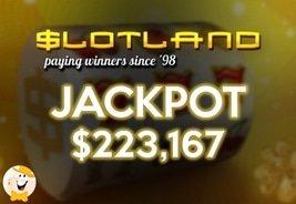 Slotland Jackpot Winner Bags $223,167 on Air Mail Slot