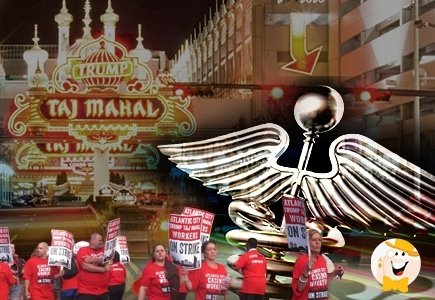 Taj Mahal Casino Employees Strike to Fight Subpar Healthcare Plan