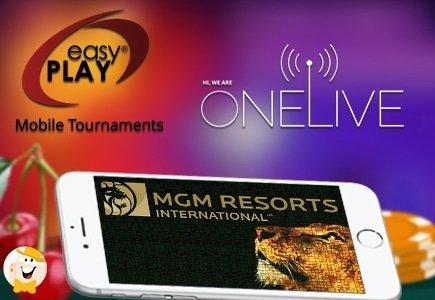 Las Vegas Casinos Gain Real-Money Mobile Slots Tournaments via MGM Resorts Launch