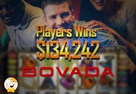 Player Wins $134,242 at Bovada Casino