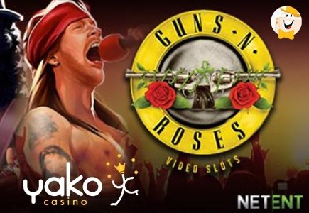 Play Guns N' Roses for a Chance to Win €1,000 from Yako Casino