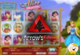 Arrow's Edge Launches Alice in Dreamland Slot