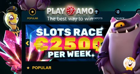 Enter Playamo's Slots Race to Win a Share of €2500