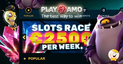 Enter playamos slots race to win a share of 2500