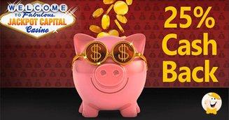 25% Cashback and Air Jackpot Bonuses from Jackpot Capital