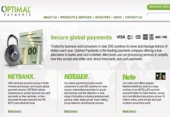 Optimal Payments Plc van plan voor het eind van 2015 de Skrill-Group voor 1.1 Biljoen Euro's te kopen