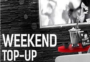 Weekend Top Up bij RedBet verhoogd