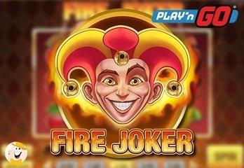 Zet de rollen in vuur en vlam met de nieuwste Play'n GO Gokkast Fire Joker