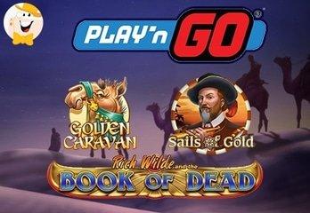 Nieuwe Gokkasten van Play'n GO in Juni
