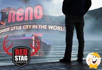 Red Stag Gewinner tauscht Reise nach Reno gegen Zeit mit der Familie