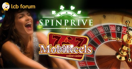 MobiReels and SpinPrive casinos introduce their representatives on the LCB forum.