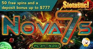 September Slotastic Bonuses for New RTG Slot 'Nova 7's'
