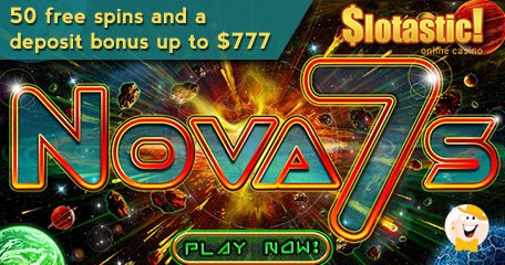 September Slotastic Bonuses for New RTG Slot 'Nova 7's'