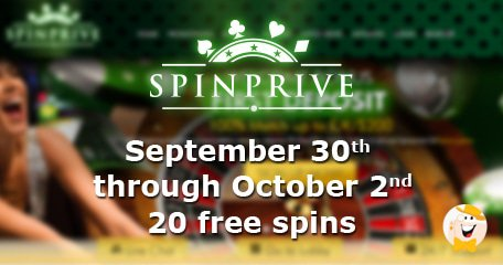 Spin Prive Casino's September Weekends