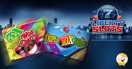 WGS' Triple Wild Cherry and Triple 10X Wild Live in Liberty Slots' Mobile Casino