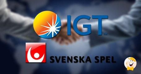 IGT Extends Partnership with Svenska Spel