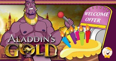 Aladdins Gold Celebrates 8th Birthday