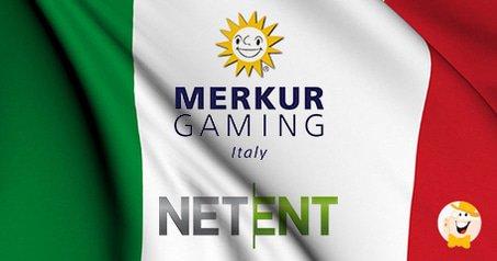 NetEnt Inks Deal with Merkur Gaming Italia