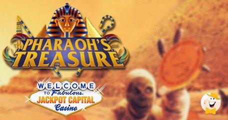 Pharaoh's Treasure October Bonus Event from Jackpot Capital
