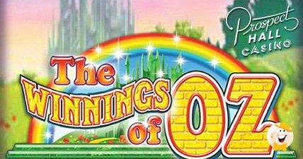 Winnings of oz awards %c2%a386870390 progressive jackpot at prospect hall