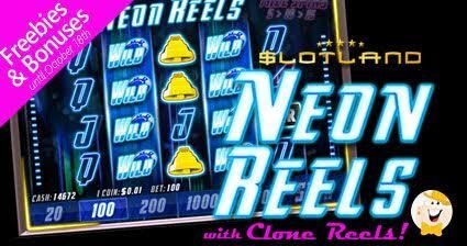 Slotland Launches New 'Neon Reels' Slot