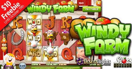Rival's 'Windy Farm' Blows into Slots Capital and Desert Nights