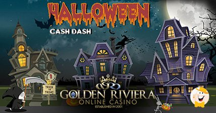 Golden riviera casino kicks off halloween cash dash