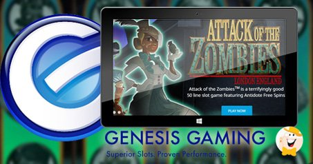 Genesis Gaming Offers Antidote in 'Attack of the Zombies'