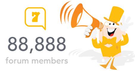 88888 forum members