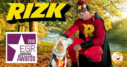 Rizk casino up for egrs socially responsible operator award