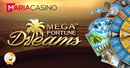 Maria casino player banks %e2%82%ac4m mega fortune dreams jackpot