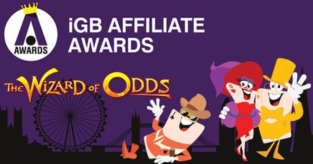 LCB, LBB, LPB and Wizard of Odds Nominated for the iGB Affiliate Awards 2017