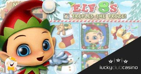 Santa Drops Elf 8s Slot & Bonus Under Lucky Club Casino's Tree