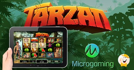 Microgaming Launches New Tarzan Slot