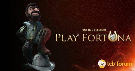 The PlayFortuna rep on the LCB forum