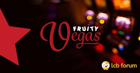 Fruity Vegas Casino rep has joined the LCB forum