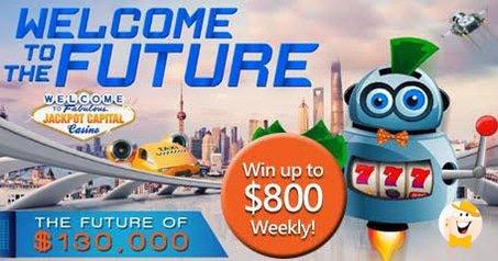 Jackpot Capital Hosts $130K Bonus Event