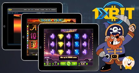 Pirated Novomatic, Aristocrat and NeEnt Slots Found at 1xbit.com