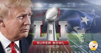 Super Bowl LI: Trump, Betting and Beer