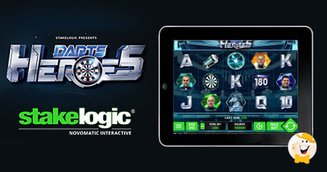 Stakelogic Drops DartsHeroes 3D Slot