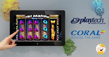 Playtech launches tiki paradise