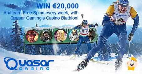 Win €20K During Quasar Gaming's Casino Biathlon
