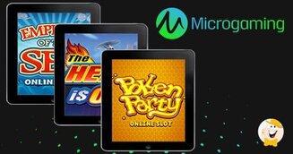 Tre Nuovi Giochi per Microgaming nel mese di Marzo