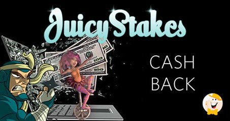 25% Cashback from Juicy Stakes