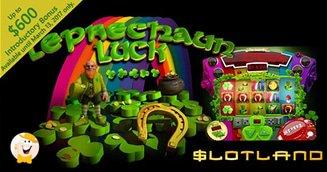 Slotland's Leprechaun Luck Deposit Bonuses