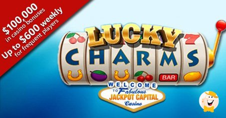 $100K Giveaway During Jackpot Capital Lucky Charms Promo