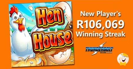 R106,069 Thunderbolt Casino Win