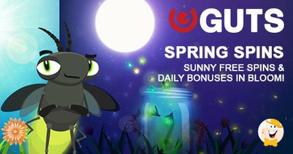 Guts giving away spring spins