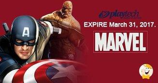 Ultimi Giorni per le Slot Marvel di Playtech